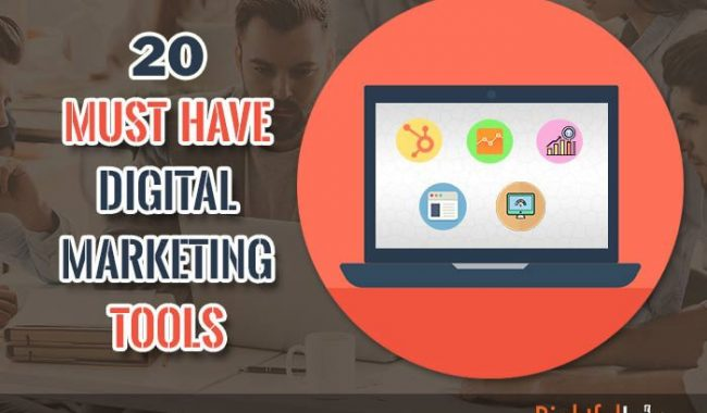20 Digital Marketing Tools a Content Marketer Can't Live Without