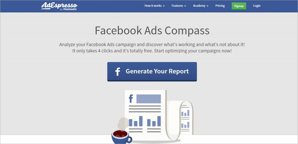 AdEspresso Facebook Ads Compass
