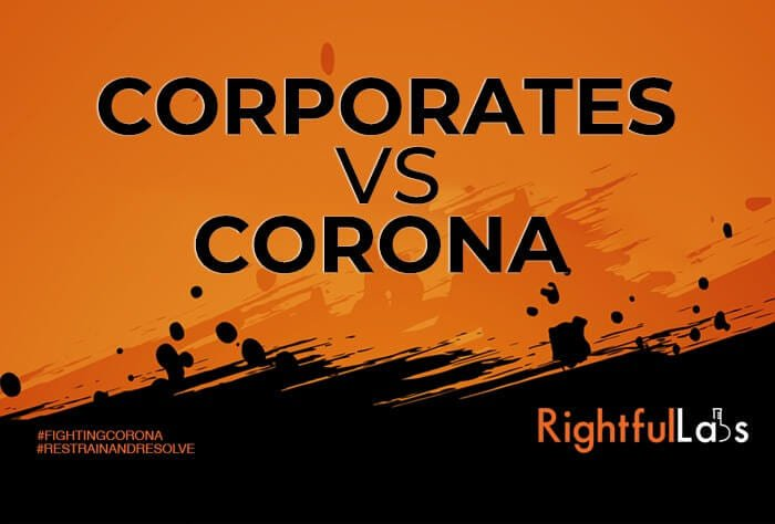 how companies are dealing with corona virus